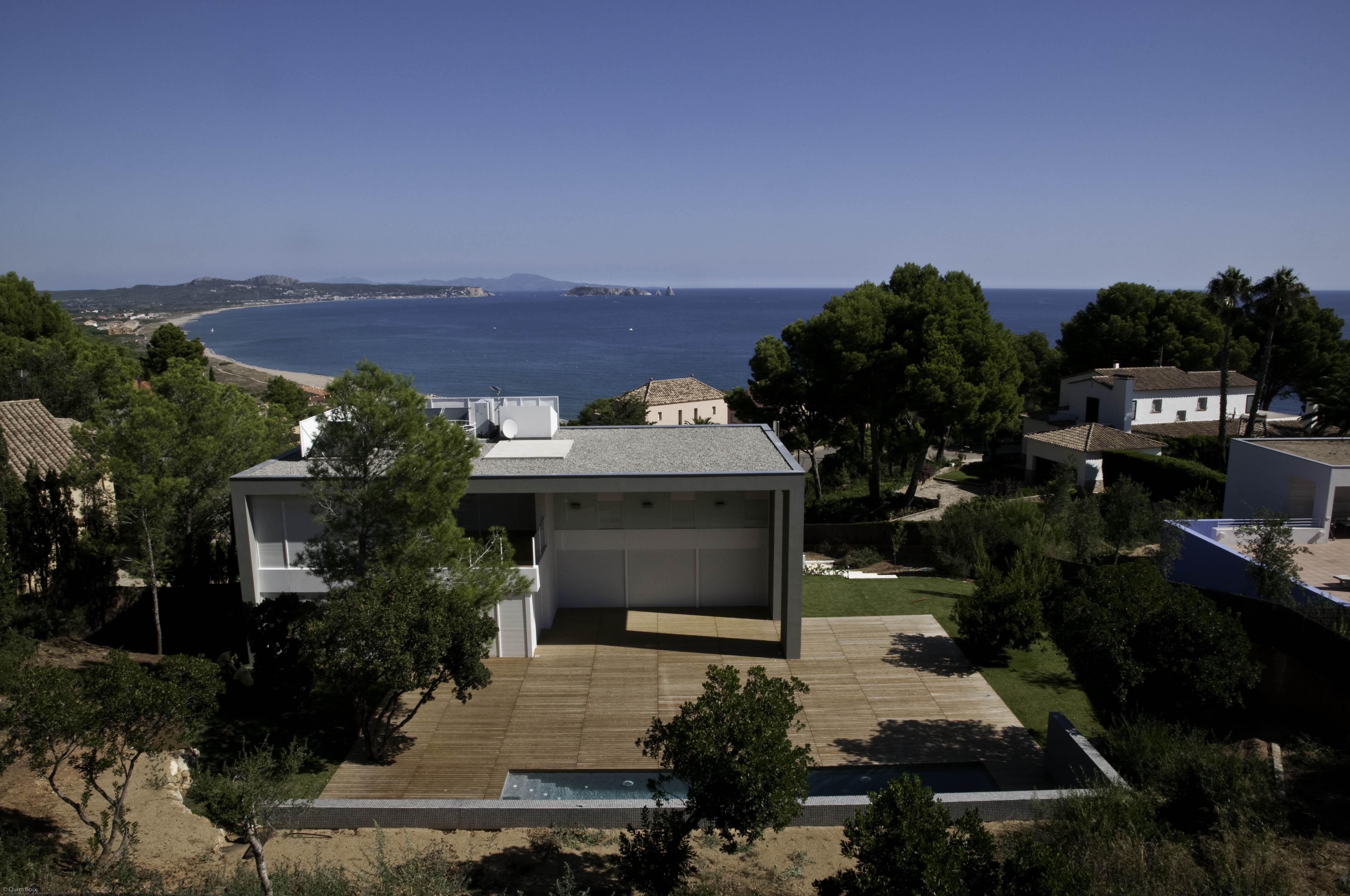 Einfamilienhaus für Verkauf beim Designer house with sea views in Sa Riera Begur, Costa Brava 17255 Spanien