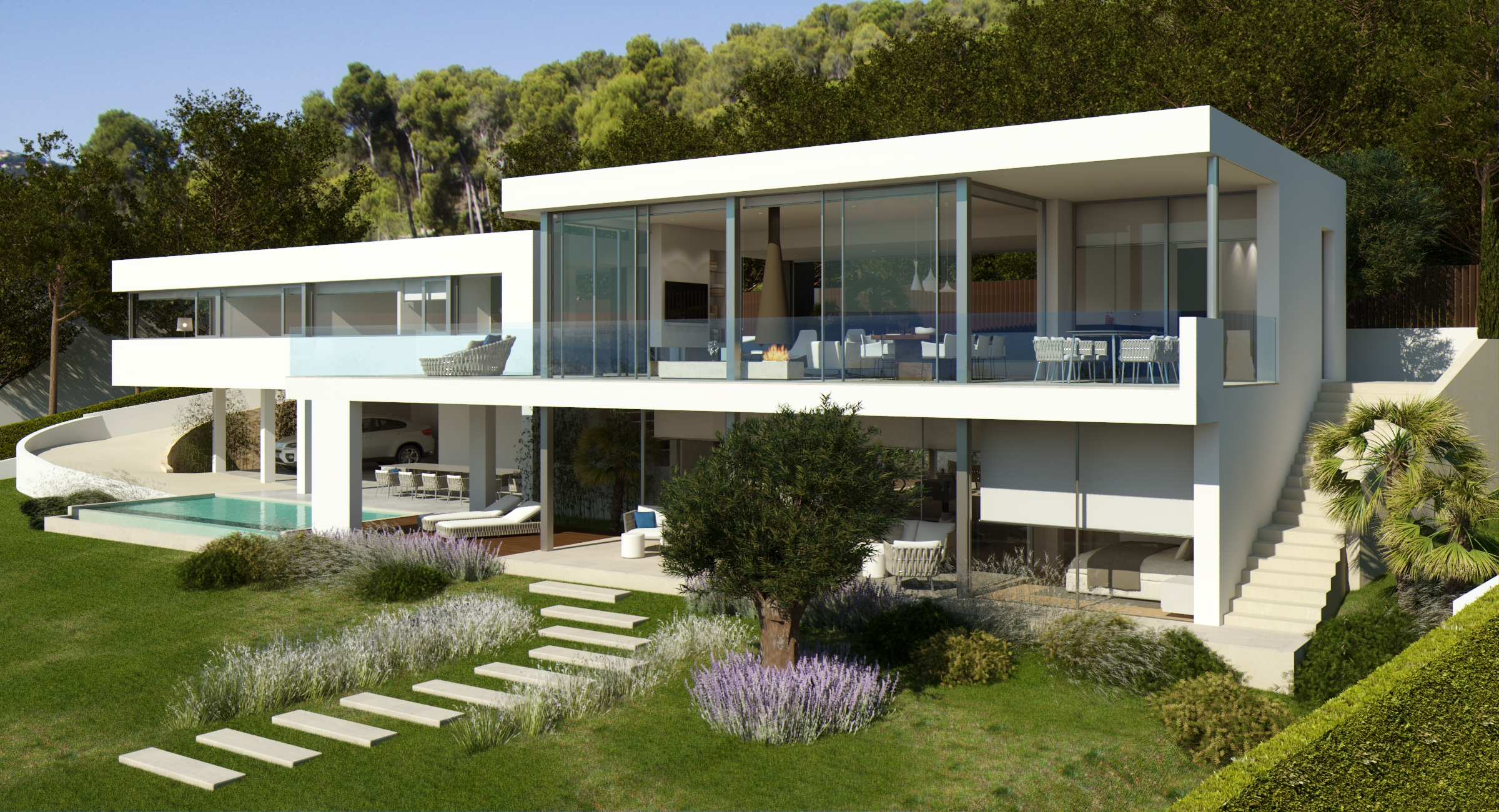 Single Family Home for Sale at Modern designer house 400 m from the beach Playa De Aro, Costa Brava, 17250 Spain