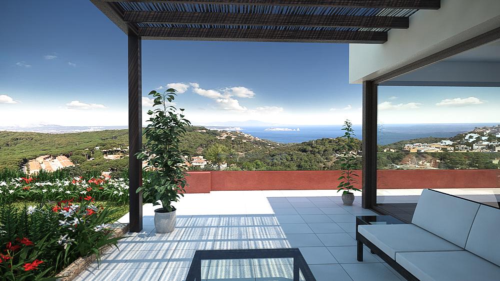 Moradia para Venda às New build, quality and beautiful sea views in Begur Begur, Costa Brava, 17255 Espanha