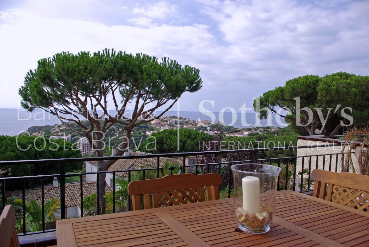 Single Family Home for Sale at Lovely terraced house overlooking the Sant Pol beach Sant Feliu De Guixols, Costa Brava 17220 Spain