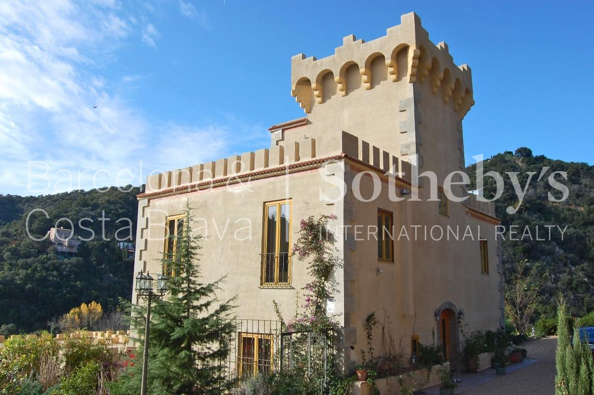 Property For Sale at A great castle in Tossa de Mar