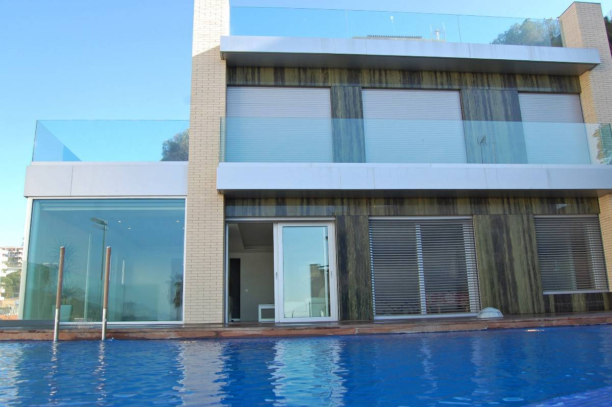 Single Family Home for Sale at Modern beachfront villa Lloret De Mar, Costa Brava 17310 Spain