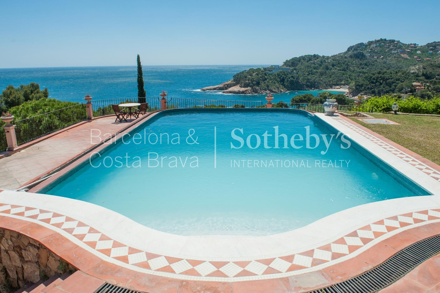 Property For Sale at Mediterranean villa with stunning views to Aiguablava