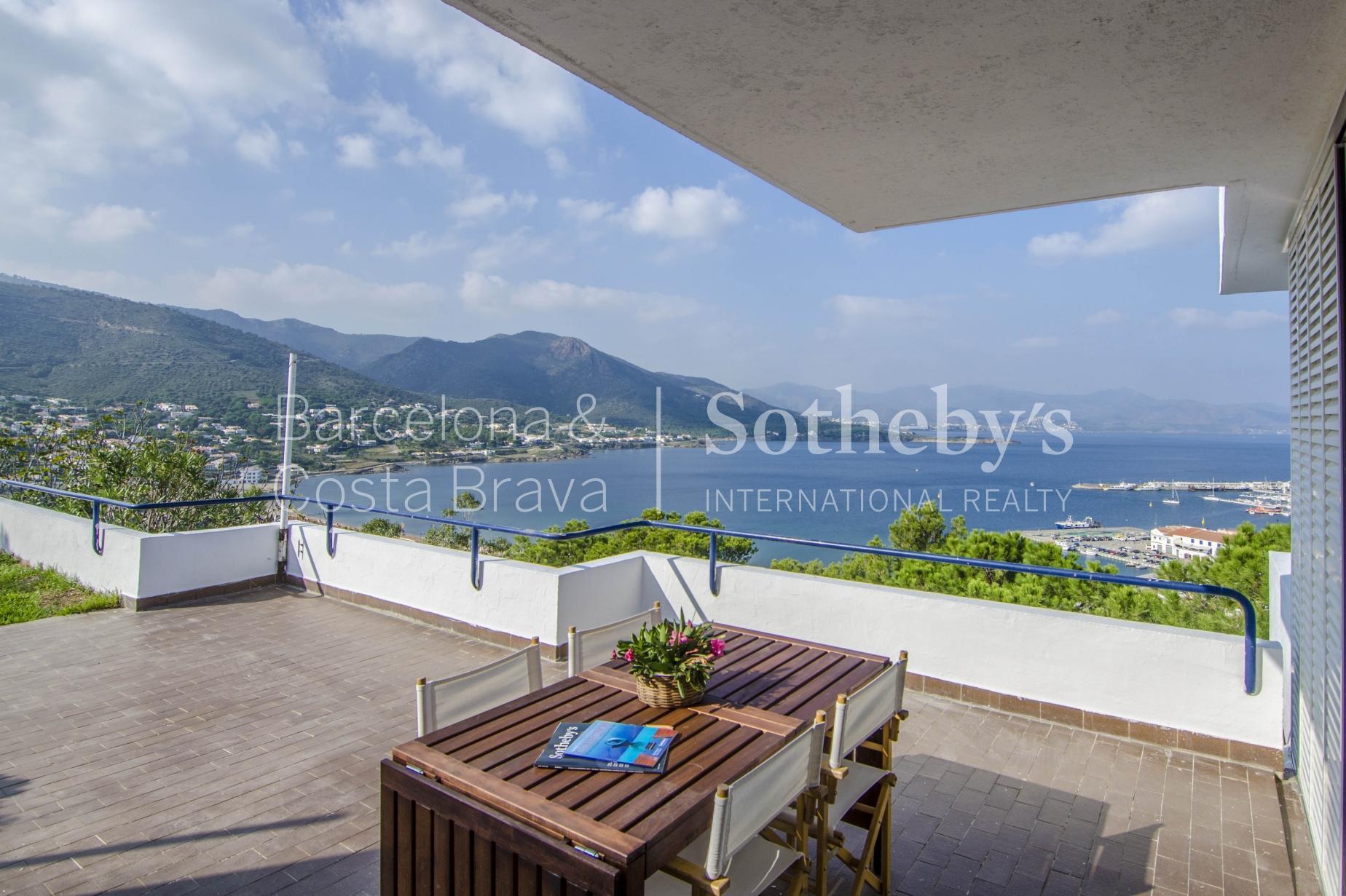 Single Family Home for Sale at Contemporary 70s style house with panoramic sea views El Port De La Selva, Costa Brava 17489 Spain