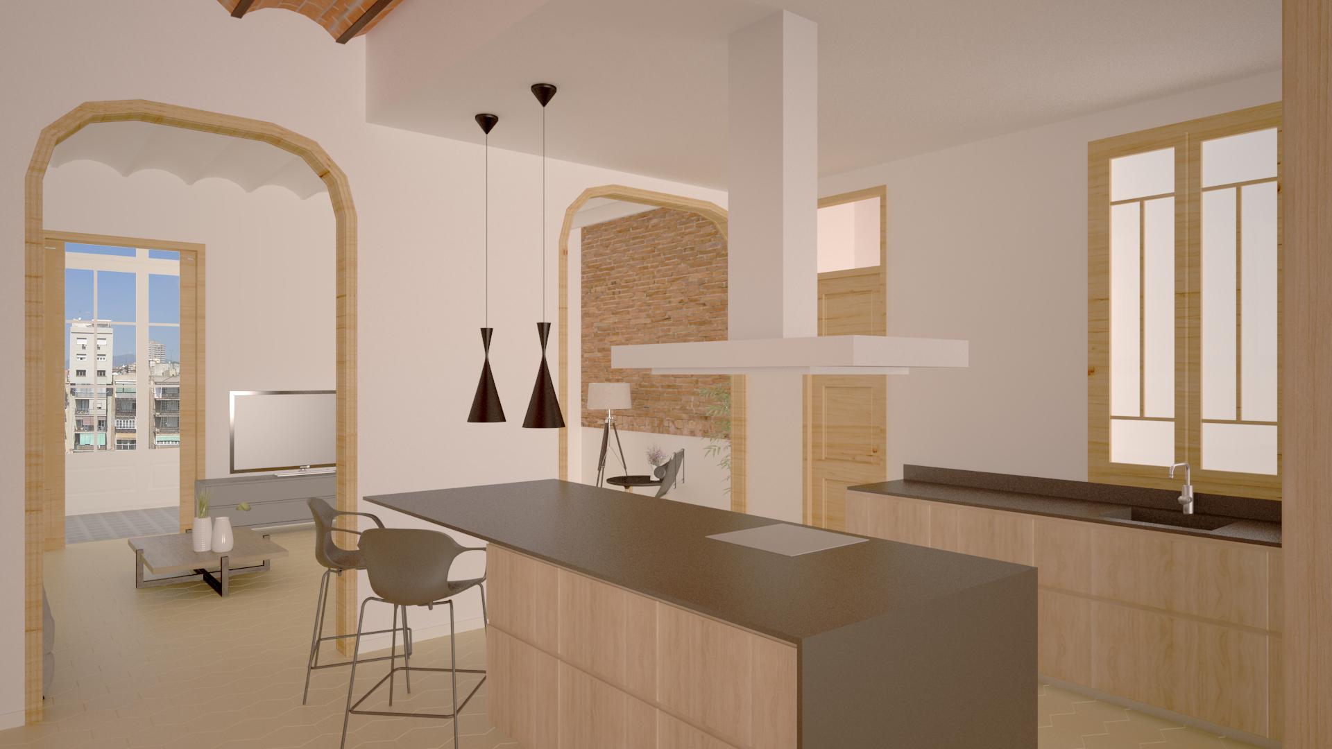 公寓 为 销售 在 Spacious and light main floor 巴萨罗纳城, 巴塞罗那, 08007 西班牙