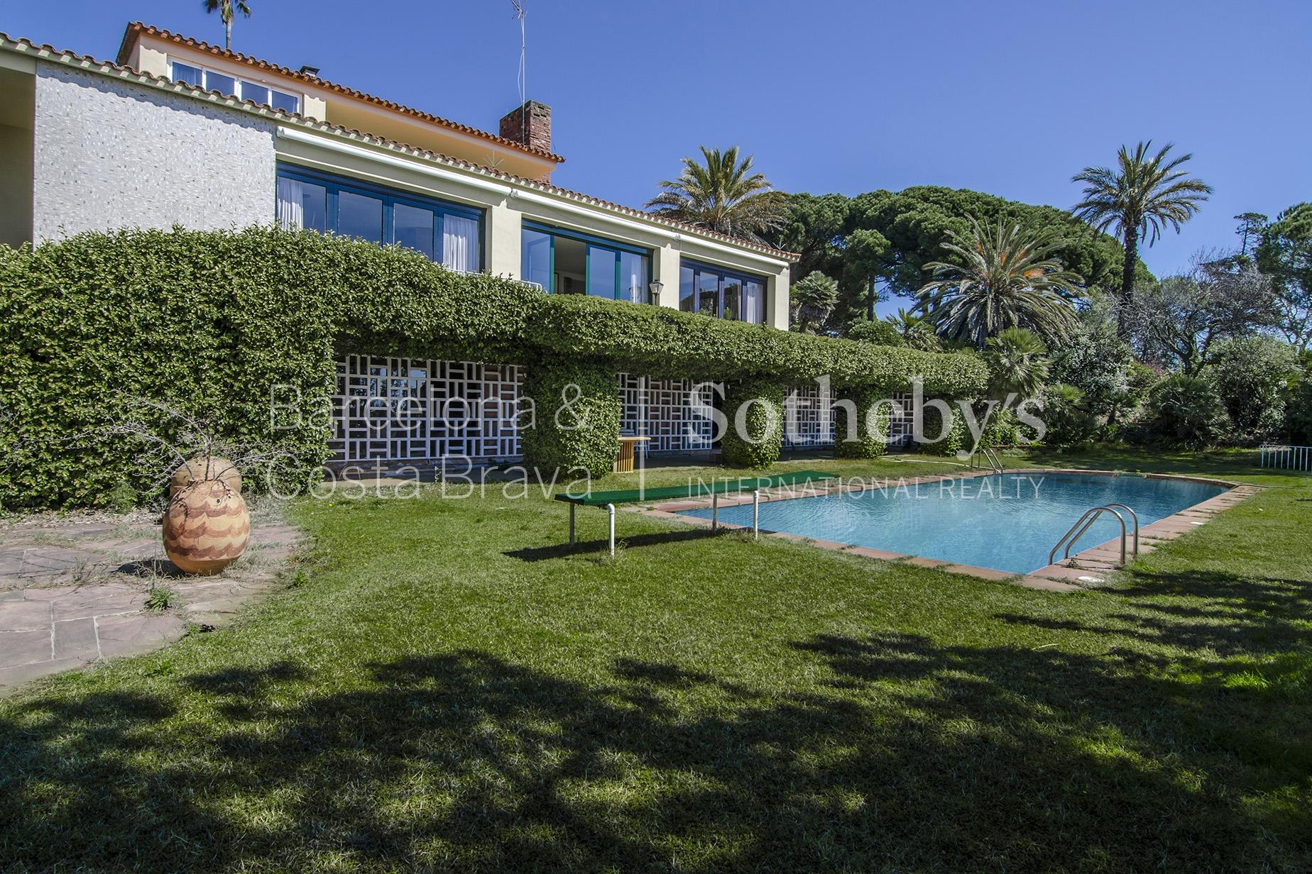 Property For Sale at Spacious and Private Llavaneres Home on Two Hectares