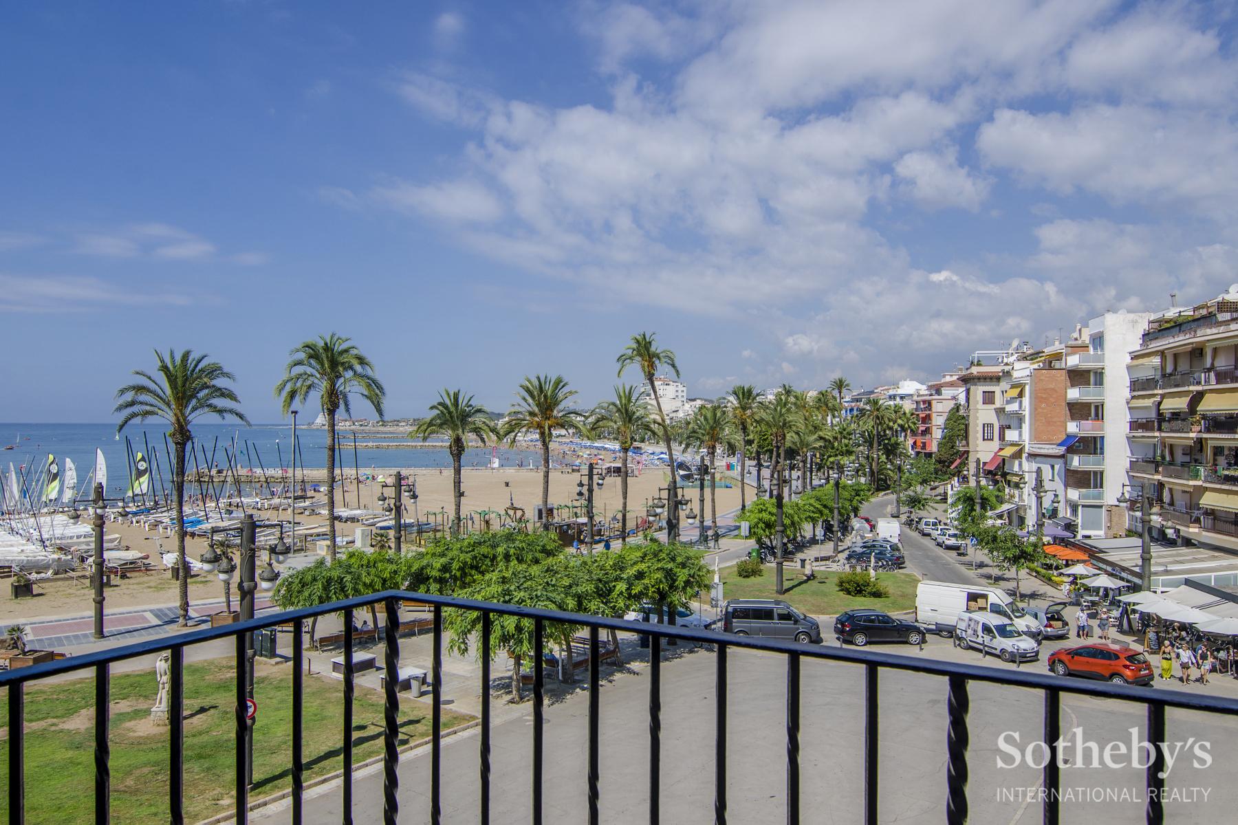 Wohnung für Verkauf beim Exquisite Seafront Apartment in Sitges Sitges, Barcelona 08870 Spanien