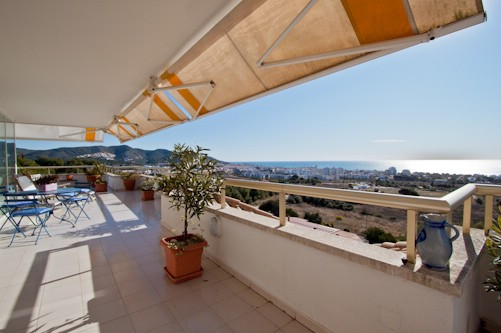 Wohnung für Verkauf beim Penthouse with panoramic sea views in Sitges Sitges, Barcelona 08870 Spanien