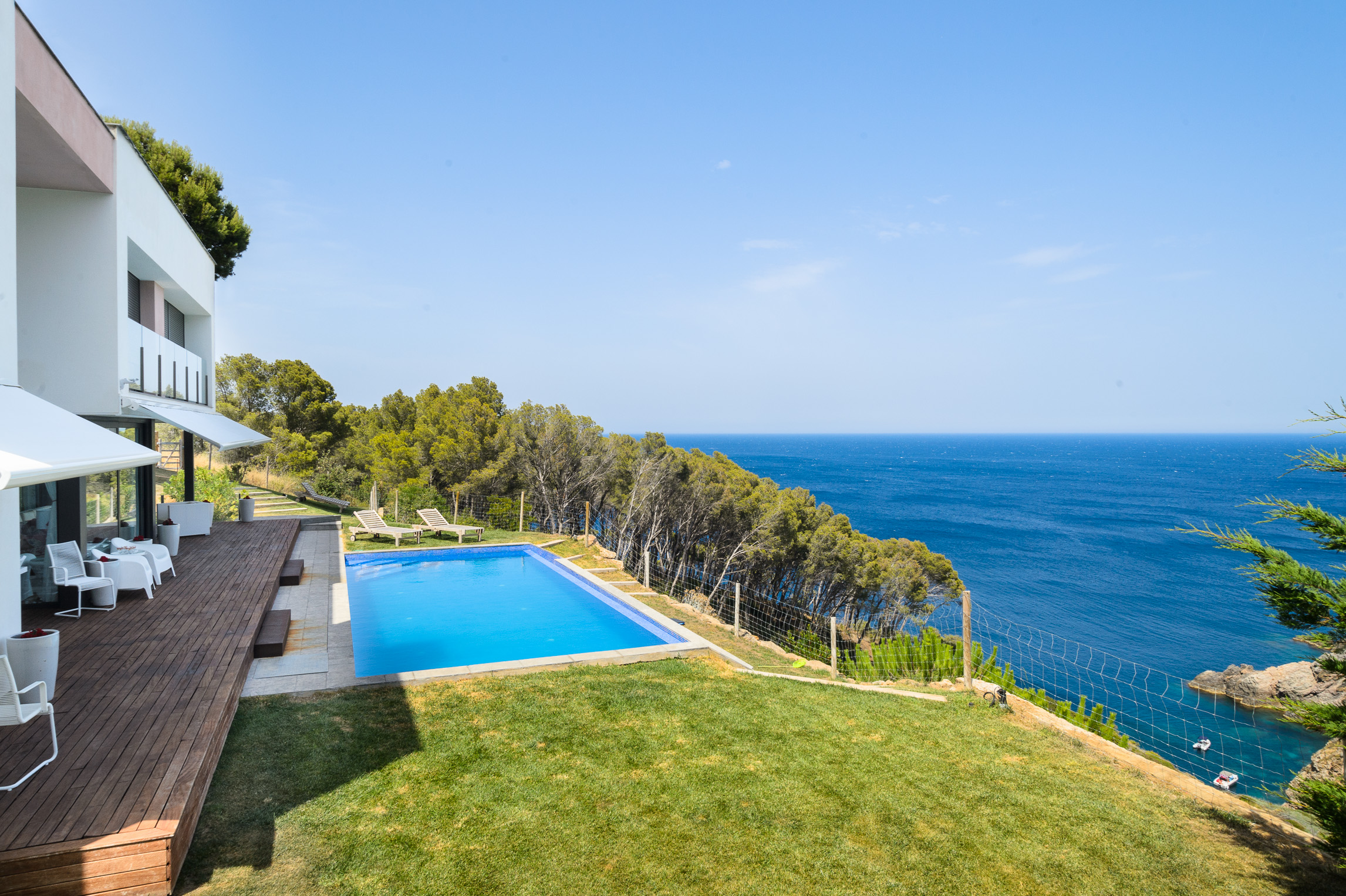 Single Family Home for Sale at Wonderful house in front of the sea Begur, Costa Brava, 17255 Spain