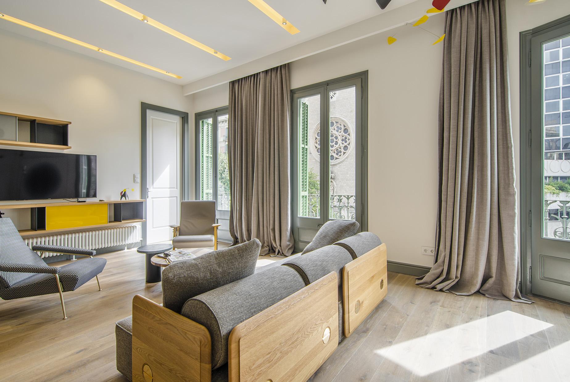 公寓 为 销售 在 Luxury apartment on Rambla Catalunya Eixample, 巴萨罗纳城, 巴塞罗那, 08007 西班牙