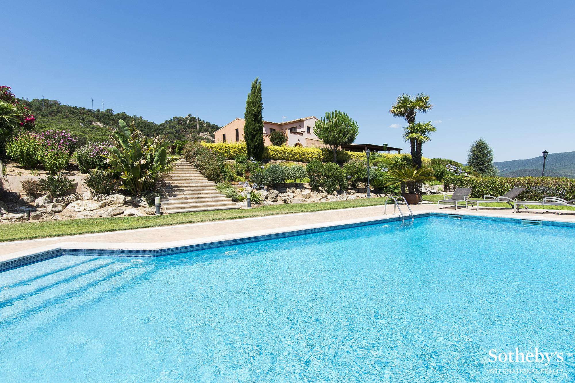 Single Family Home for Sale at Masia with amazing views Sant Feliu De Guixols, Costa Brava 17220 Spain