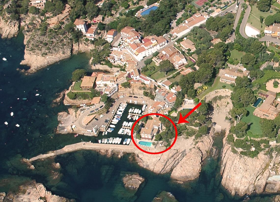Single Family Home for Sale at Property in Aiguablava: a singular house facing the sea Begur, Costa Brava 17255 Spain