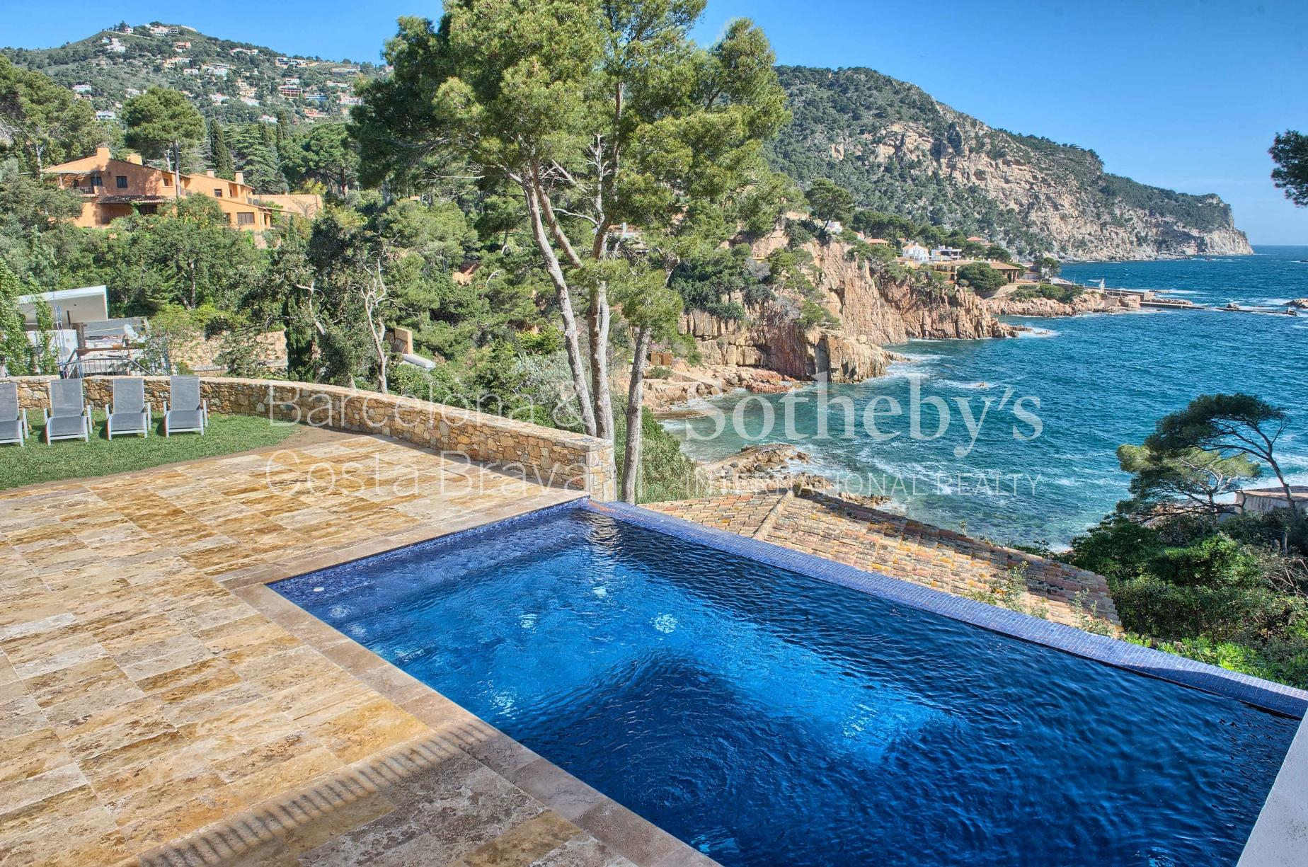 Property For Sale at Exclusive modern villa in Aiguablava with access to the sea