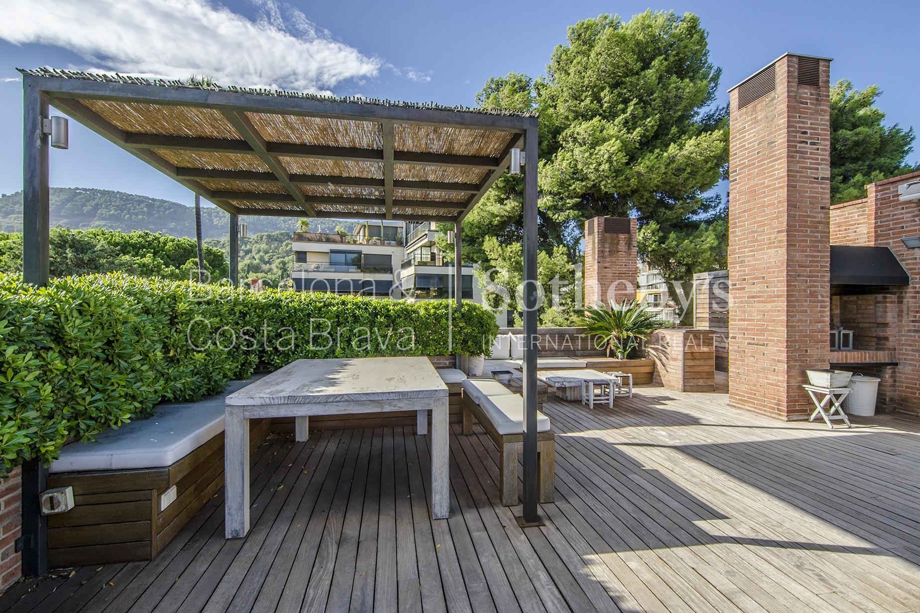 Квартира для того Продажа на Fabulous Duplex Penthouse in Pedralbes Zona Alta, Barcelona City, Barcelona 08034 Испания