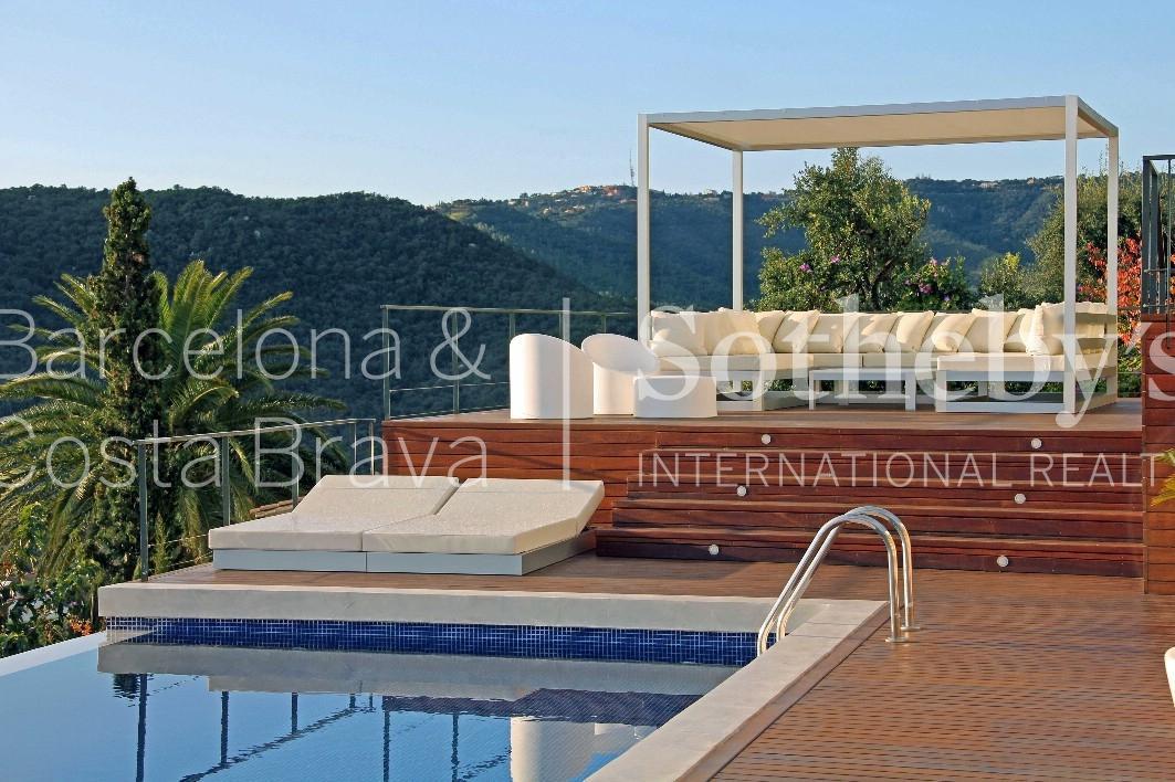 Single Family Home for Sale at Fantastic modern villa with panoramic views in Calonge Sant Antoni De Calonge, Costa Brava 17252 Spain
