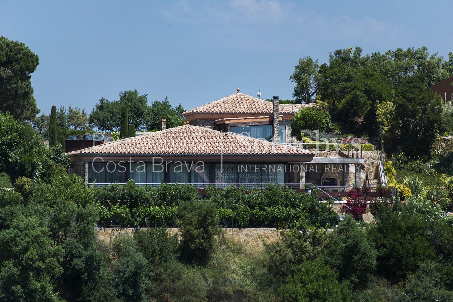 Single Family Home for Sale at Mediterranean villa with sea views Playa De Aro, Costa Brava 17250 Spain
