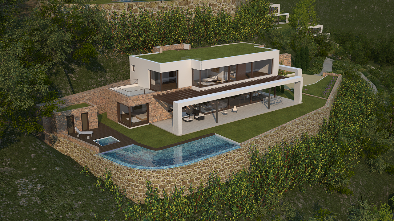 Single Family Home for Sale at Promotion Luxury villas with sea views, Begur. Begur, Costa Brava 17255 Spain