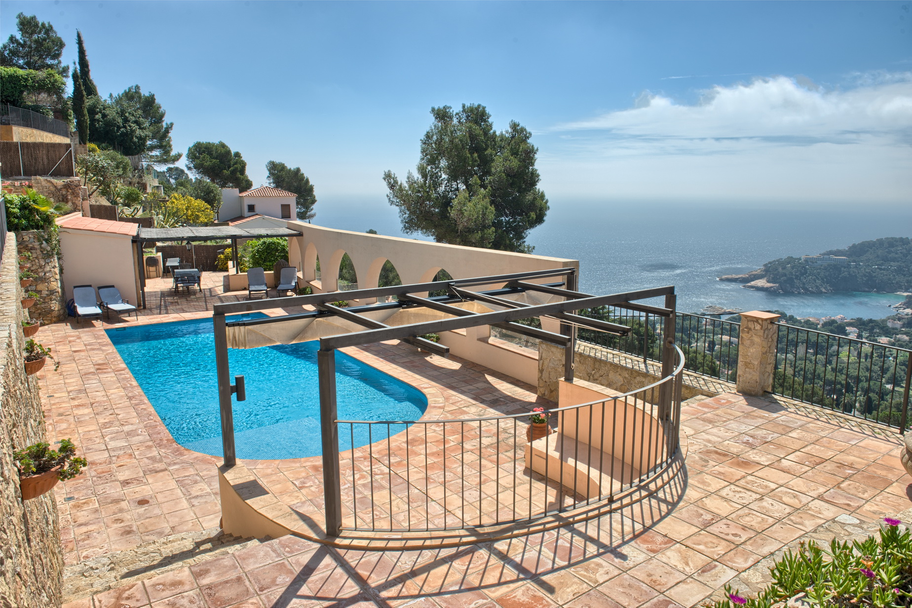 Single Family Home for Sale at Elegant house with beautiful sea views and South orientation in Aiguablava Begur, Costa Brava, 17255 Spain