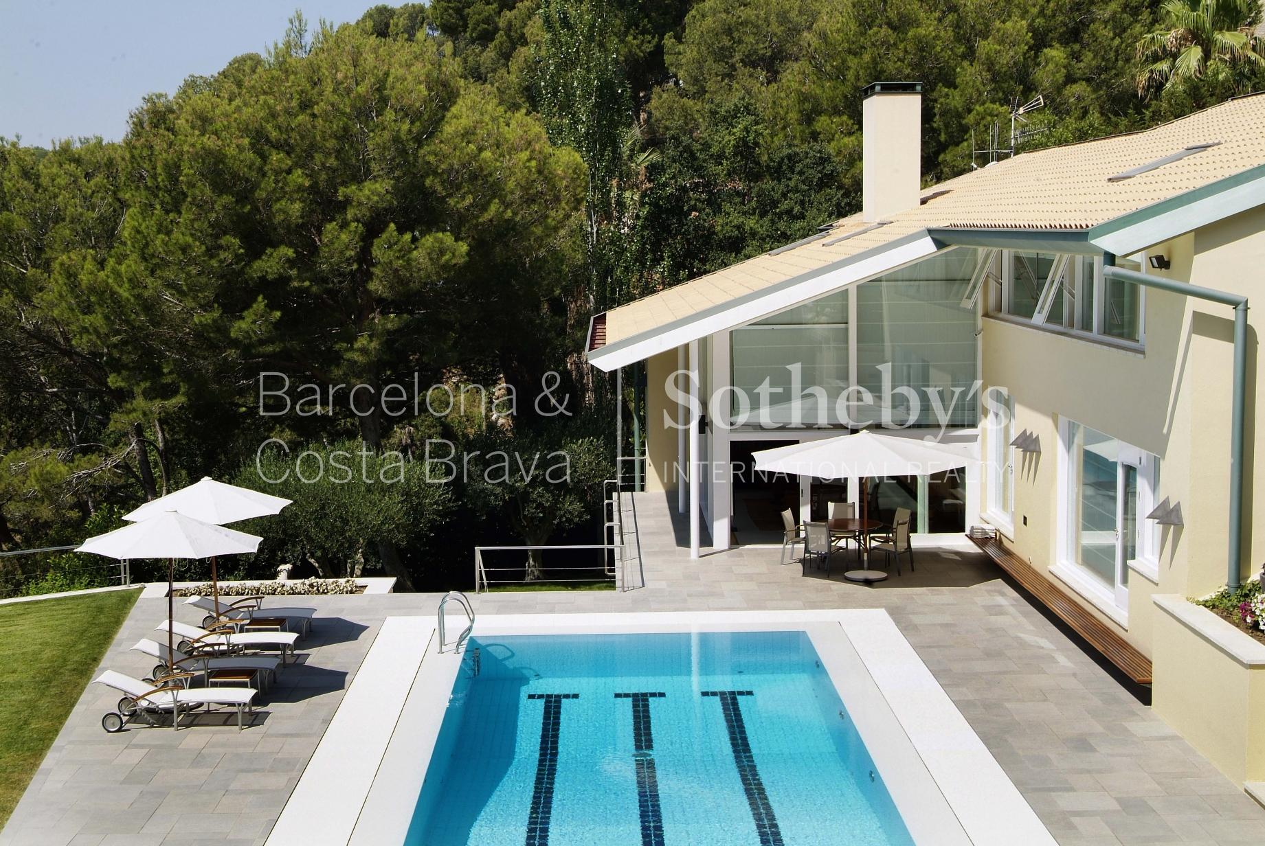 Property For Sale at Spectacular detached villa unique in its style in Begur