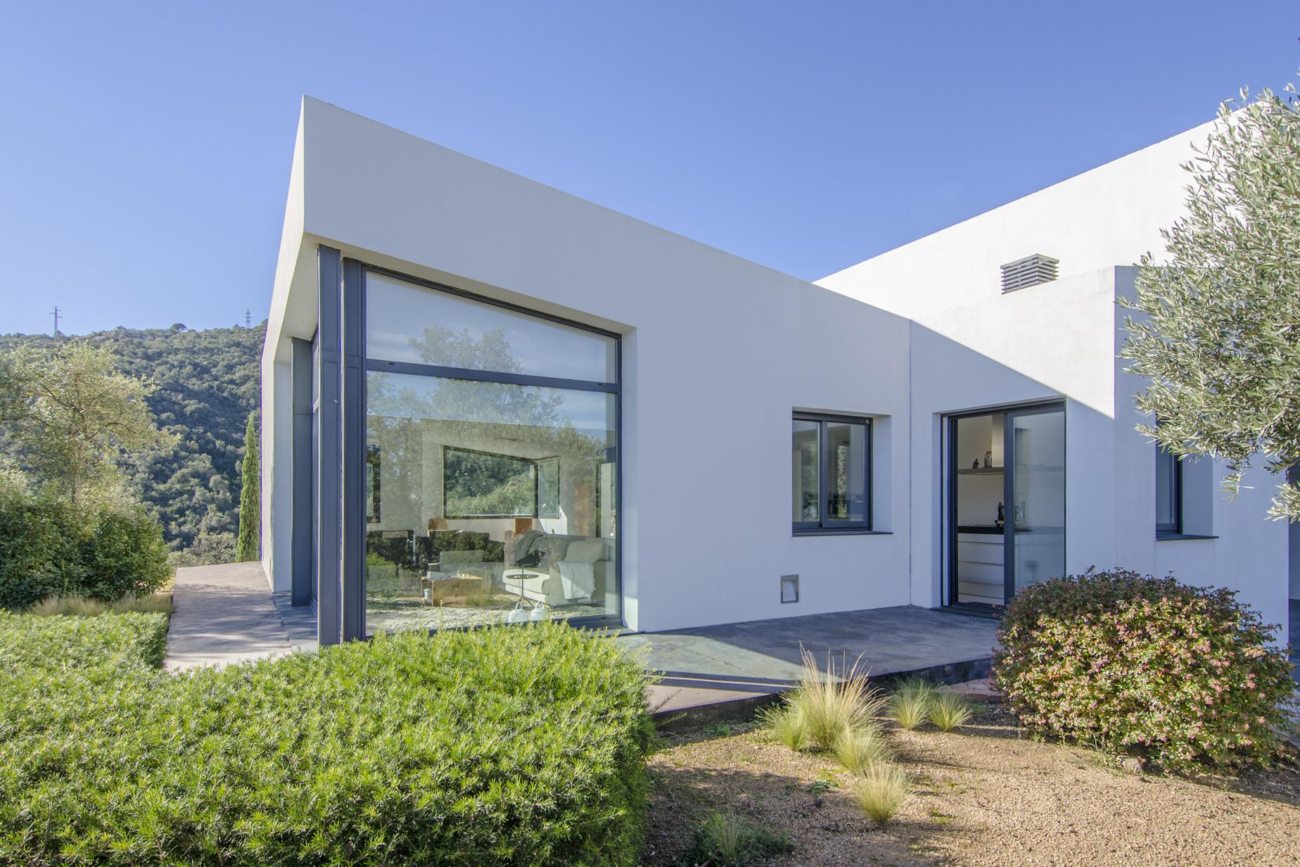 Single Family Home for Sale at Bright modern designer villa in peaceful setting Santa Cristina D Aro, Costa Brava, 17246 Spain