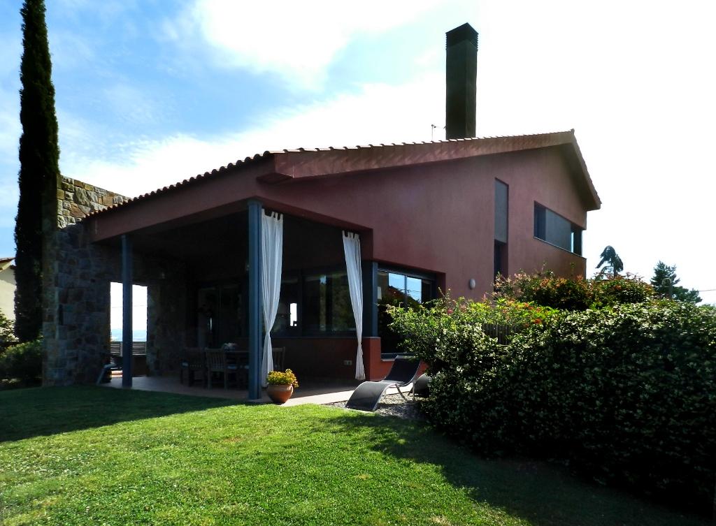 Einfamilienhaus für Verkauf beim Maginificent house with amazing panoramas. Sant Cugat Del Valles, Barcelona, 08172 Spanien