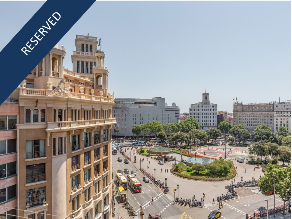 Apartment for Sale at Unique penthouse in Plaza Catalunya Eixample, Barcelona City, Barcelona, 08007 Spain