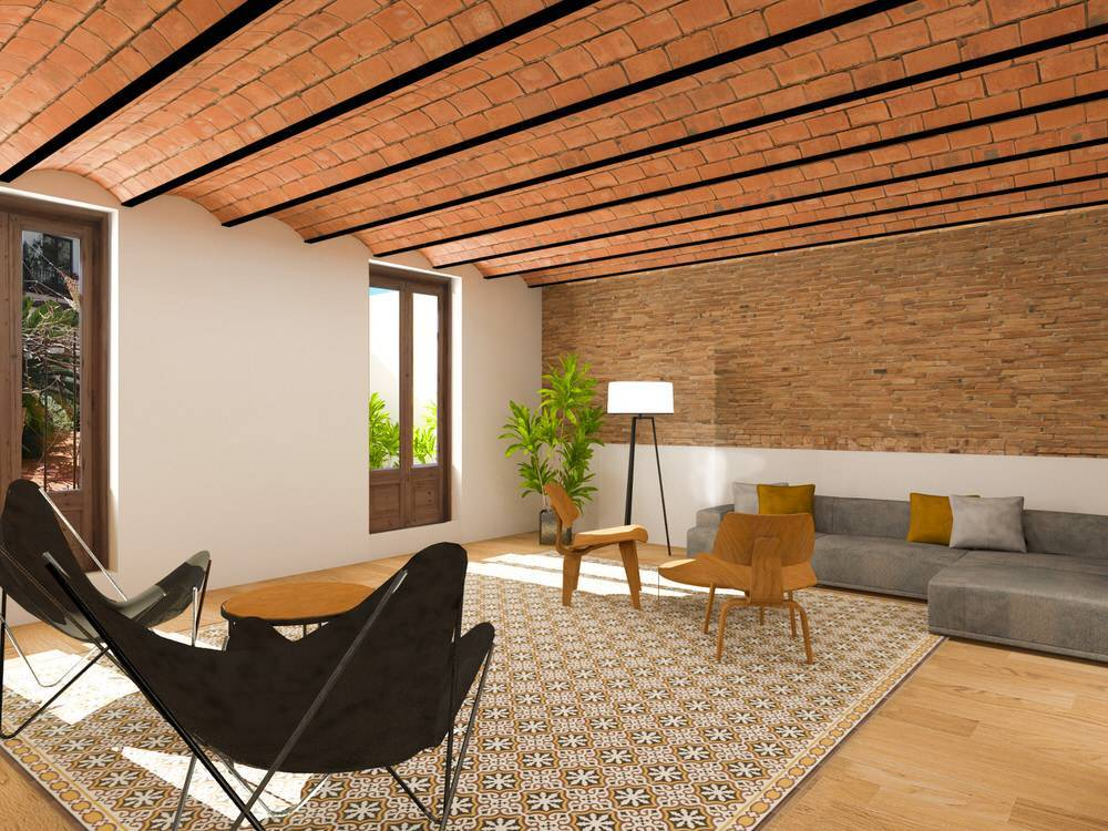 Apartment for Sale at Modernist apartment with terrace Barcelona City, Barcelona, 08002 Spain
