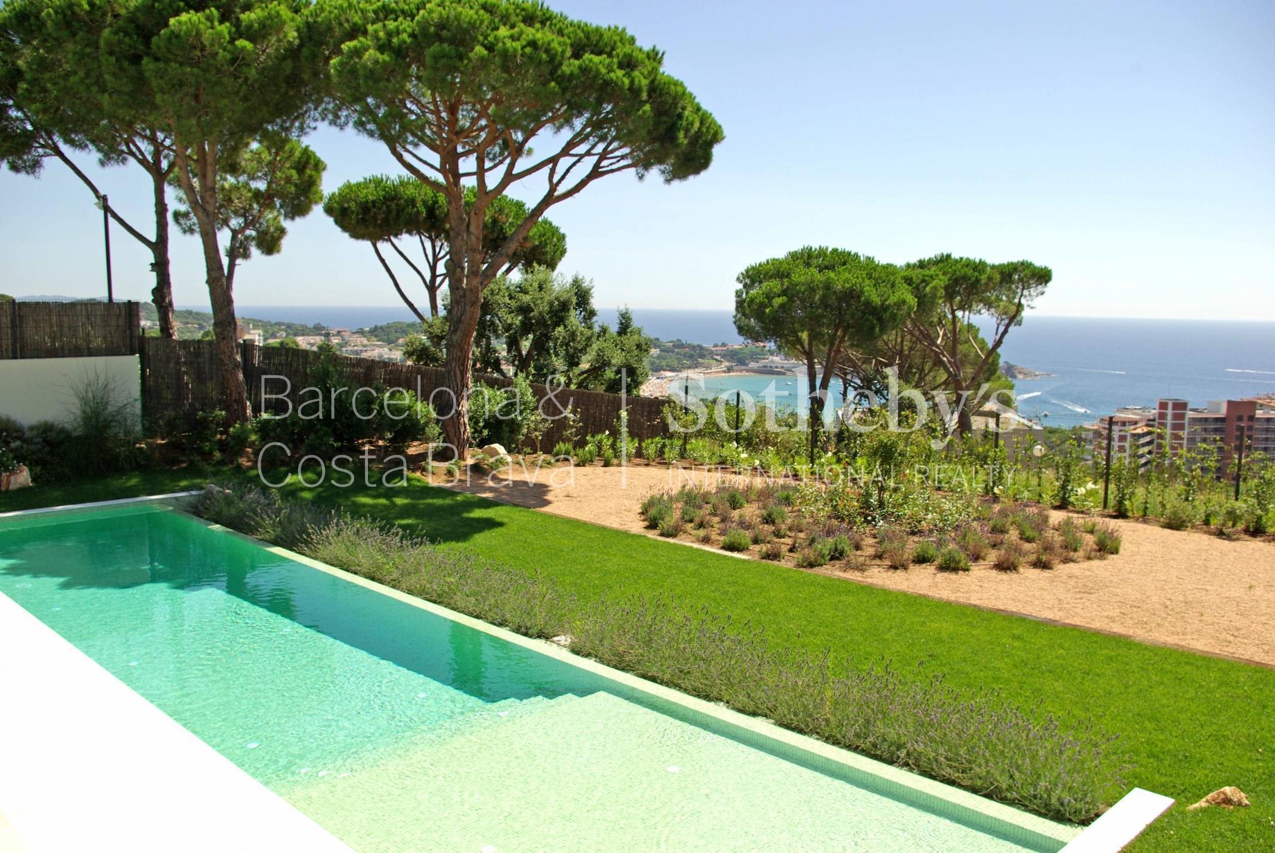 """Property For Sale at Designer villa with breathtaking views over the sea and """"La Gavina"""" estate i ..."""