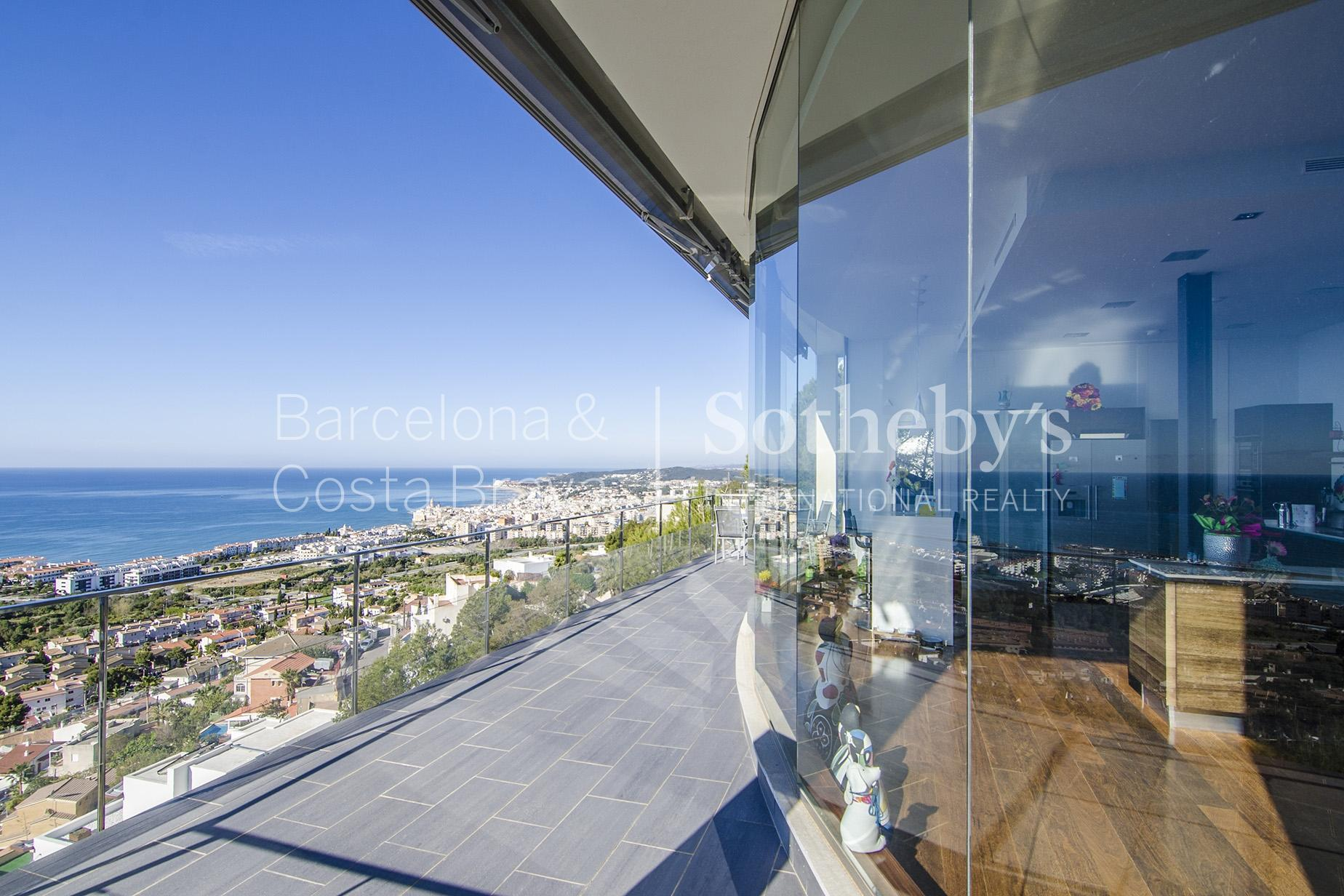 Single Family Home for Sale at Fantastically Designed House with Stunning Views to Sitges Sitges, Barcelona 08870 Spain