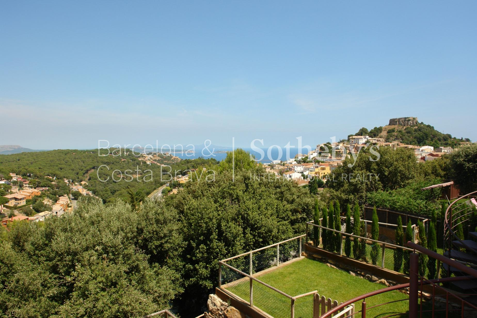 Single Family Home for Sale at Townhouse with sea views five minutes from Begur Begur, Costa Brava 17255 Spain