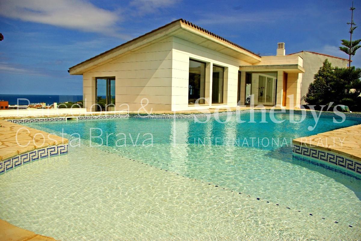 단독 가정 주택 용 매매 에 Modern house with sea views in S'Agaró S'Agaro, Costa Brava 17248 스페인