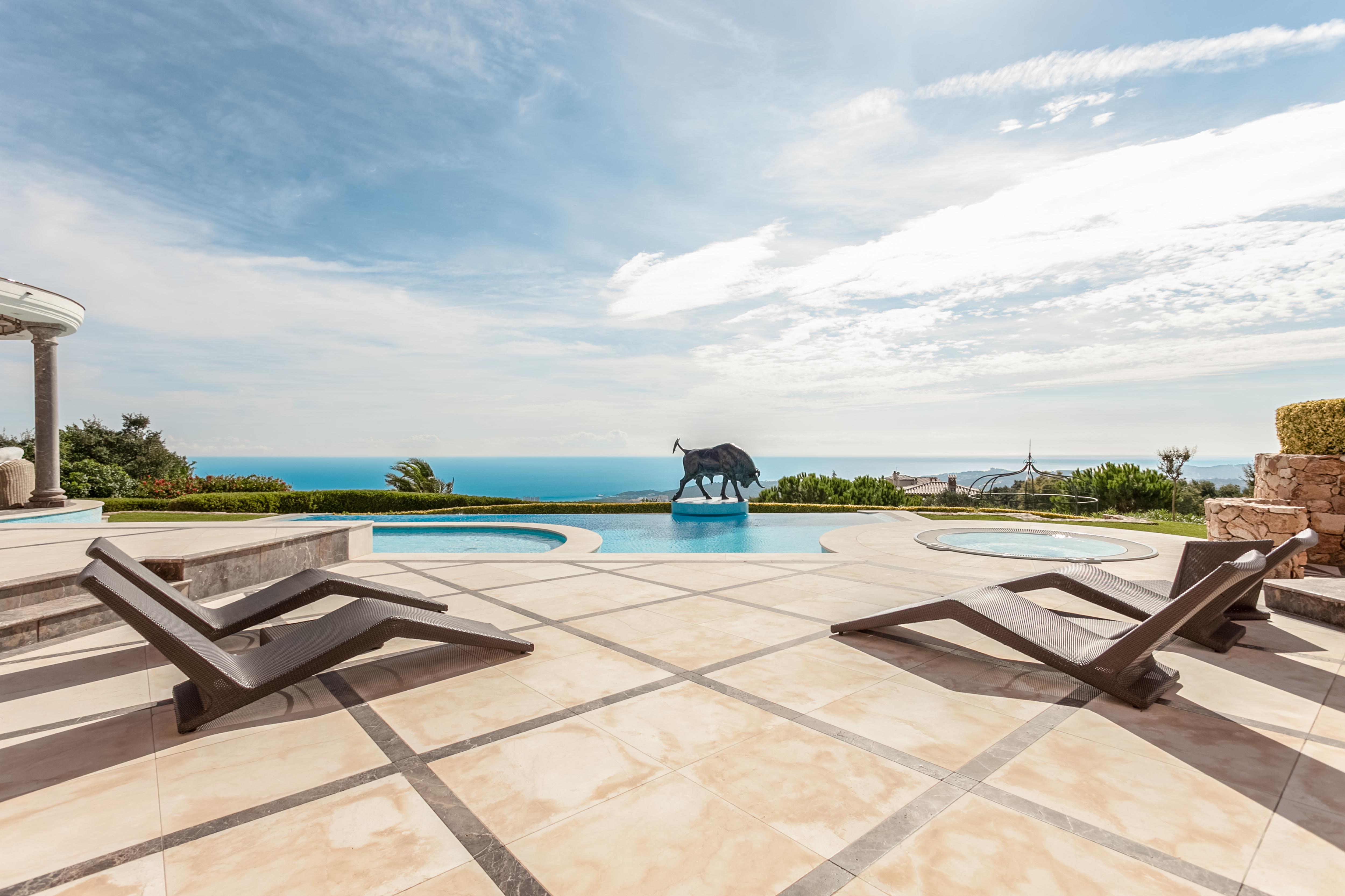 Single Family Home for Sale at Fantastic villa with panoramic sea views Playa De Aro, Costa Brava 17250 Spain