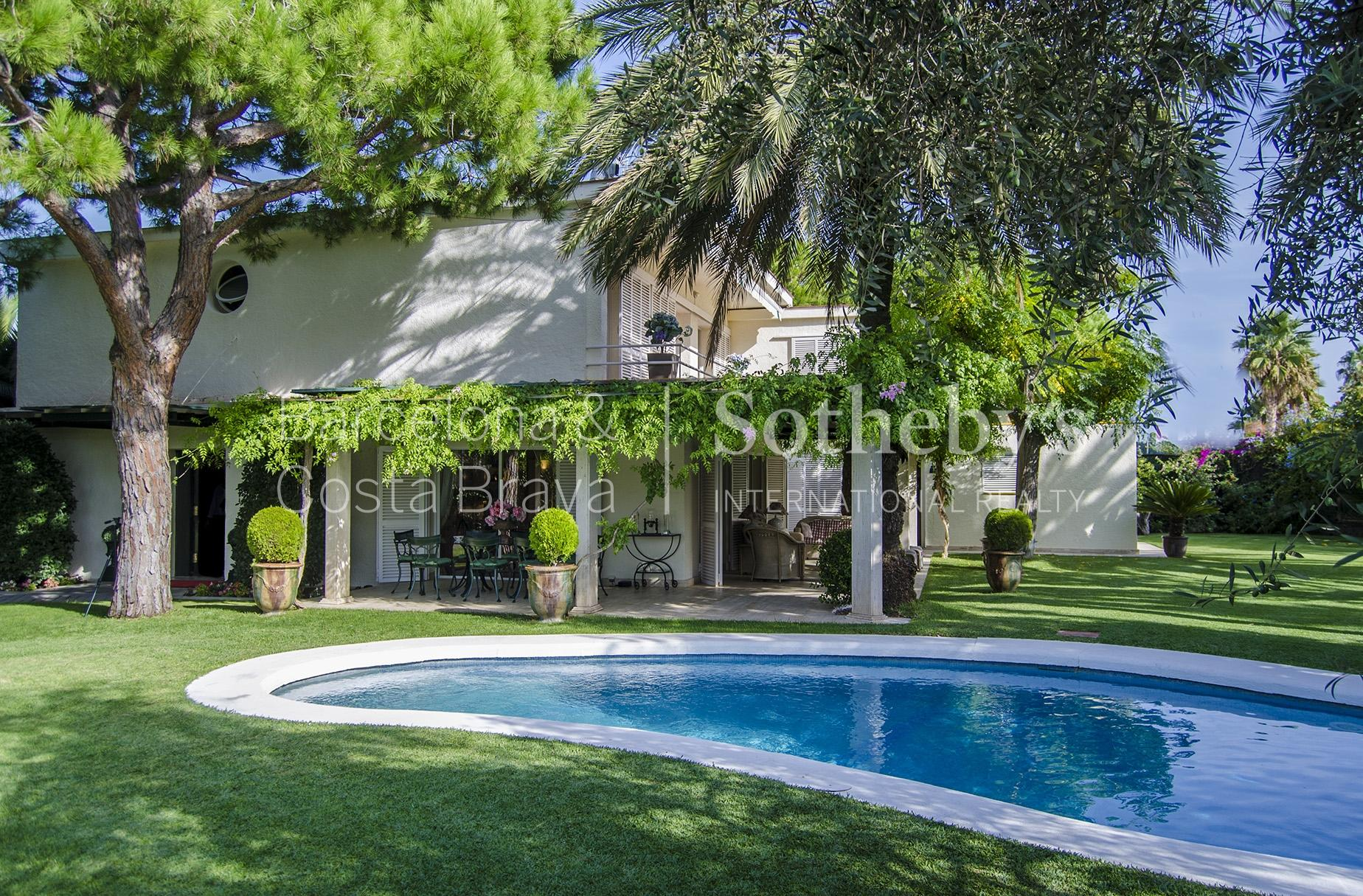 Single Family Home for Sale at Tranquility a Few Meters from the Beach in Sitges Sitges, Barcelona 08870 Spain