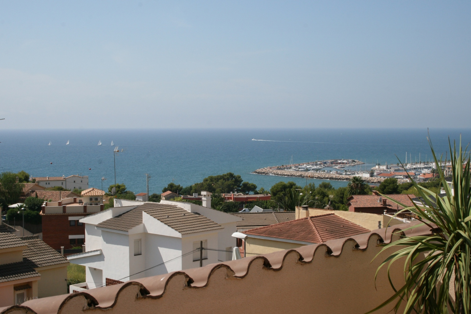 Single Family Home for Sale at Semi-detached house overlooking the port of Aiguadolc Sitges, Barcelona, 08870 Spain