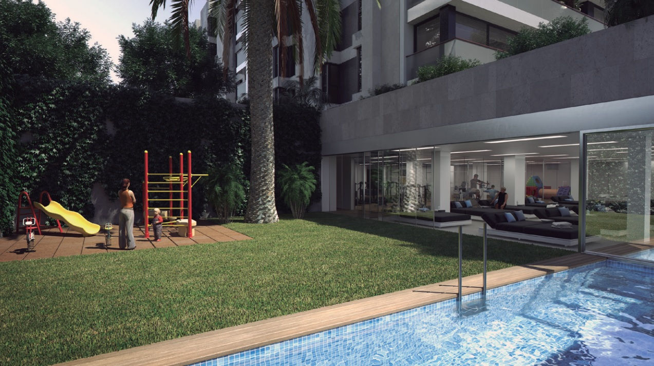 아파트 용 매매 에 Exclusive Tres Torres Apartment in a New Development Zona Alta, Barcelona City, Barcelona, 08034 스페인