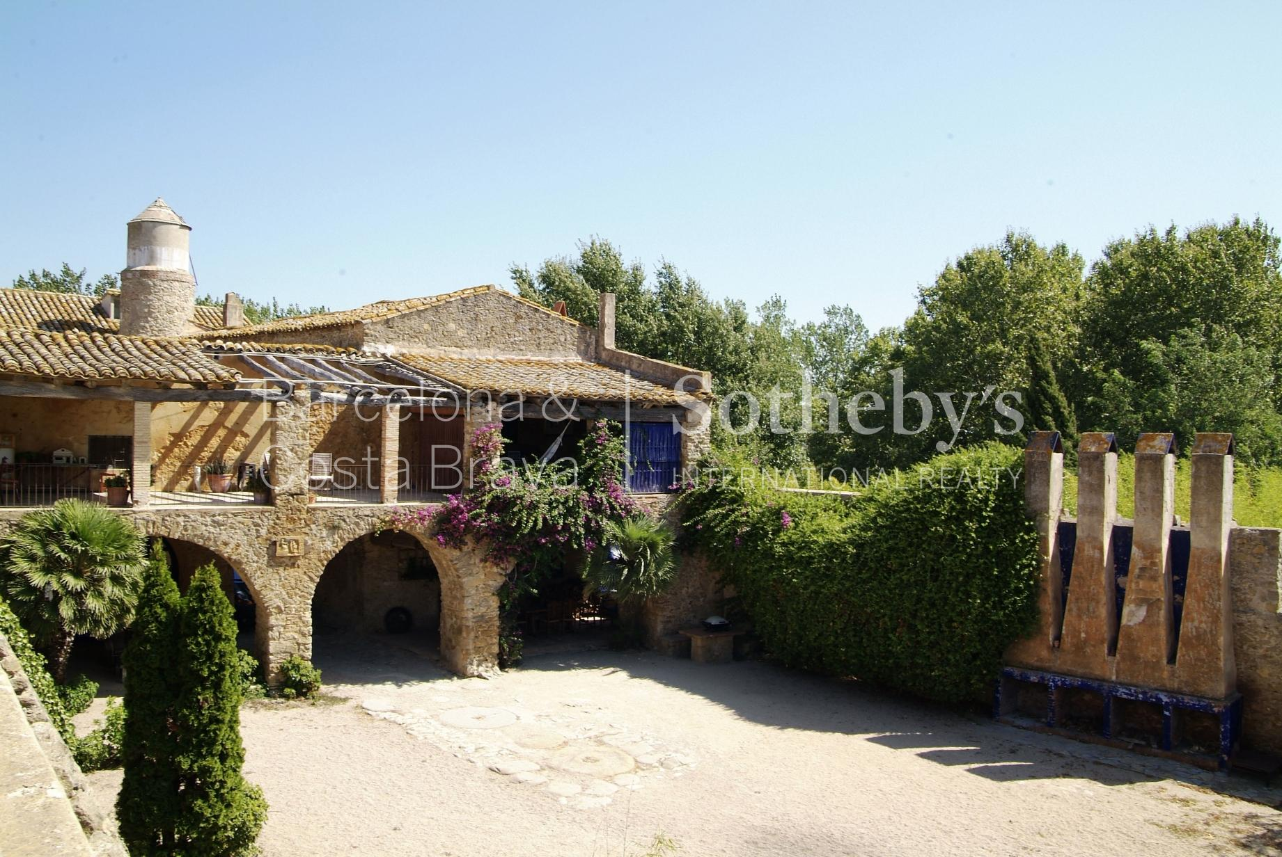 Property For Sale at A charming castle in the medieval village of Pals