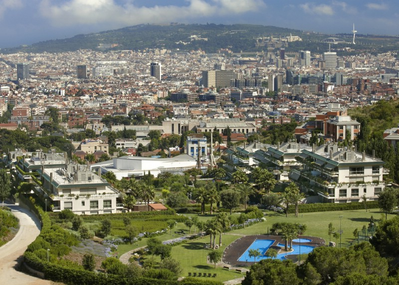 Apartment for Sale at Exclusive new residential area in Barcelona Zona Alta, Barcelona City, Barcelona 08034 Spain