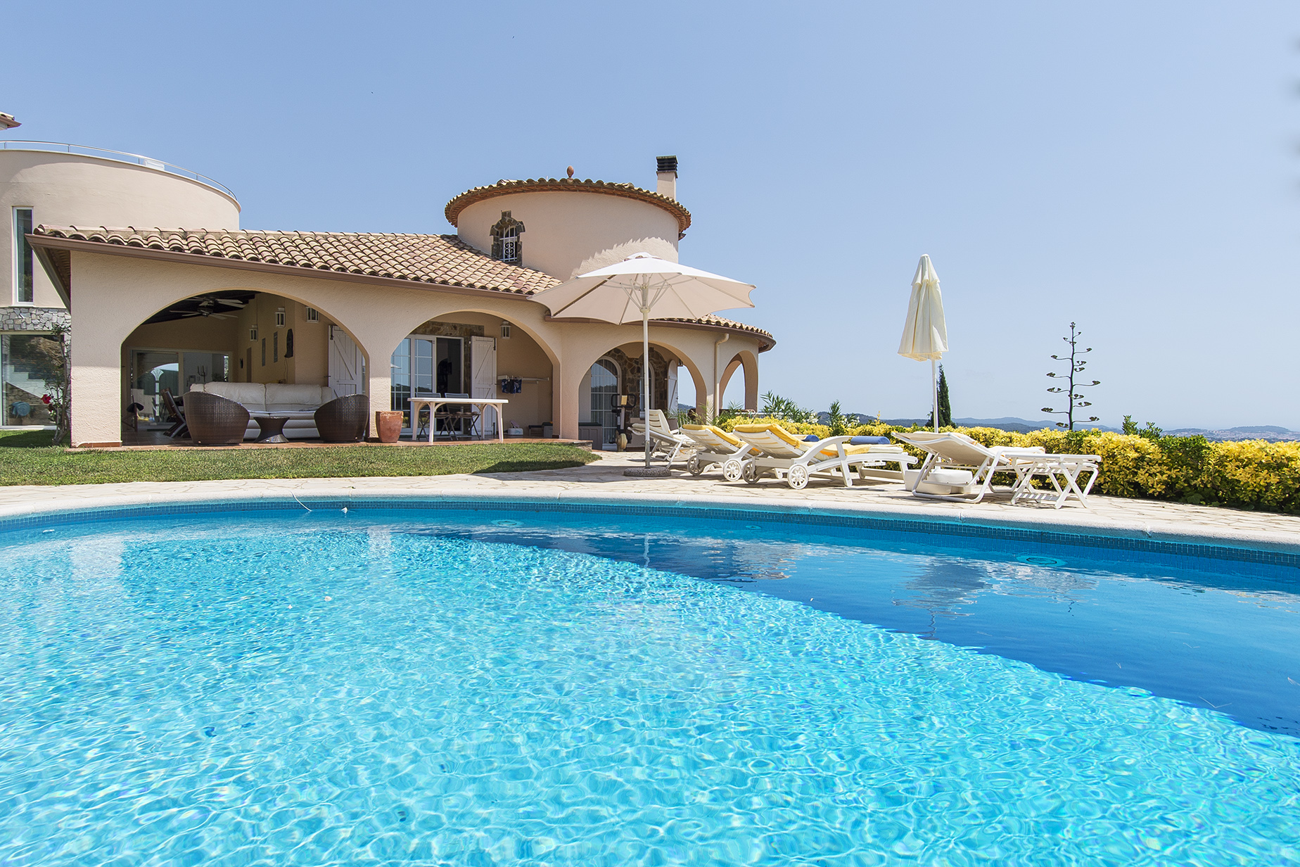 Single Family Home for Sale at Spacious villa with panoramic views Sant Antoni De Calonge, Costa Brava 17252 Spain