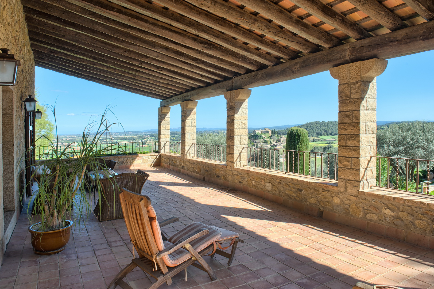 Maison unifamiliale pour l Vente à Beautiful rustic style estate in the centre of Foixa with stunning views Other Cities Baix Emporda, Barcelona, 17001 Espagne