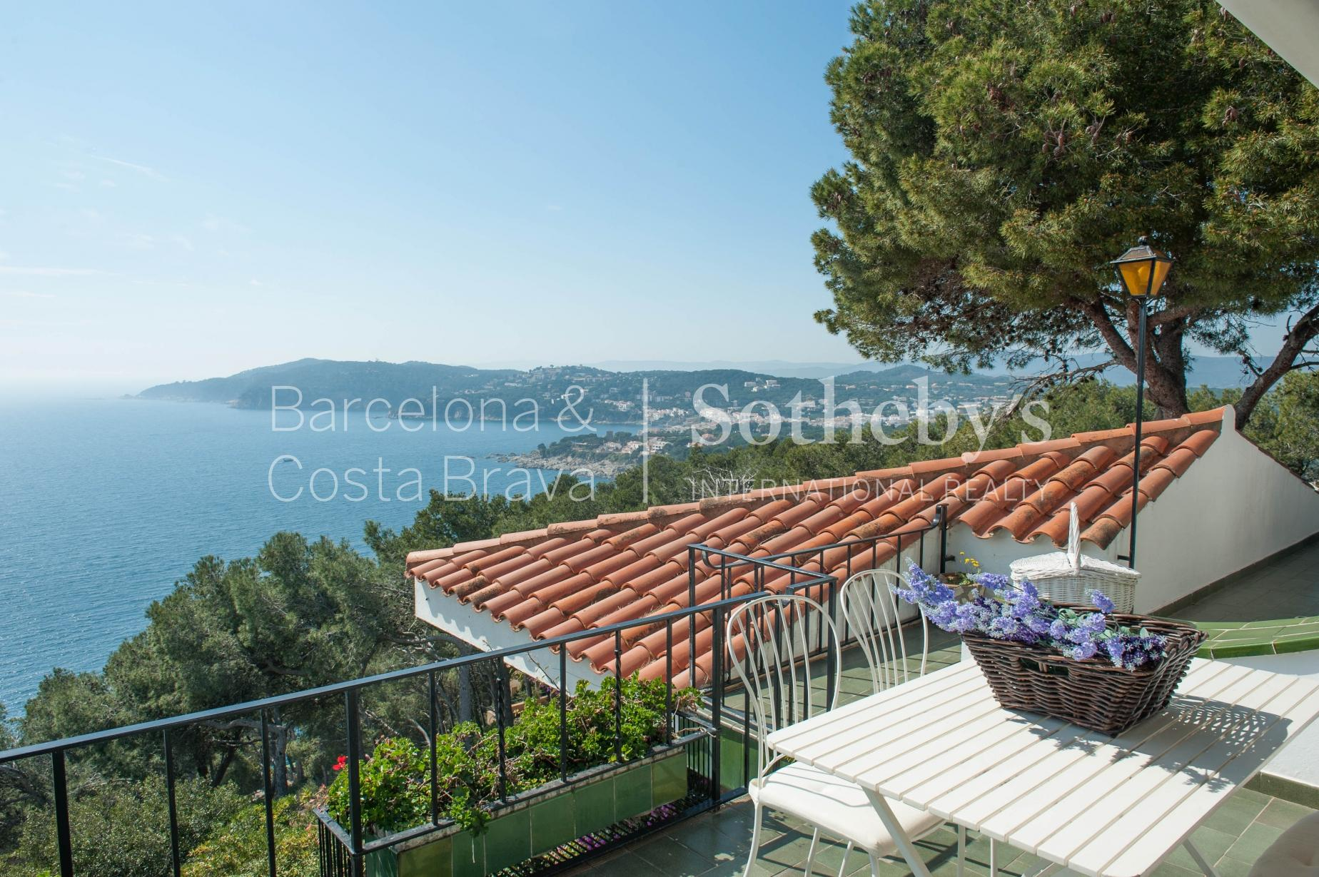 Single Family Home for Sale at Mediterranean house with sea views and walking distance to the village Llafranc, Costa Brava 17211 Spain
