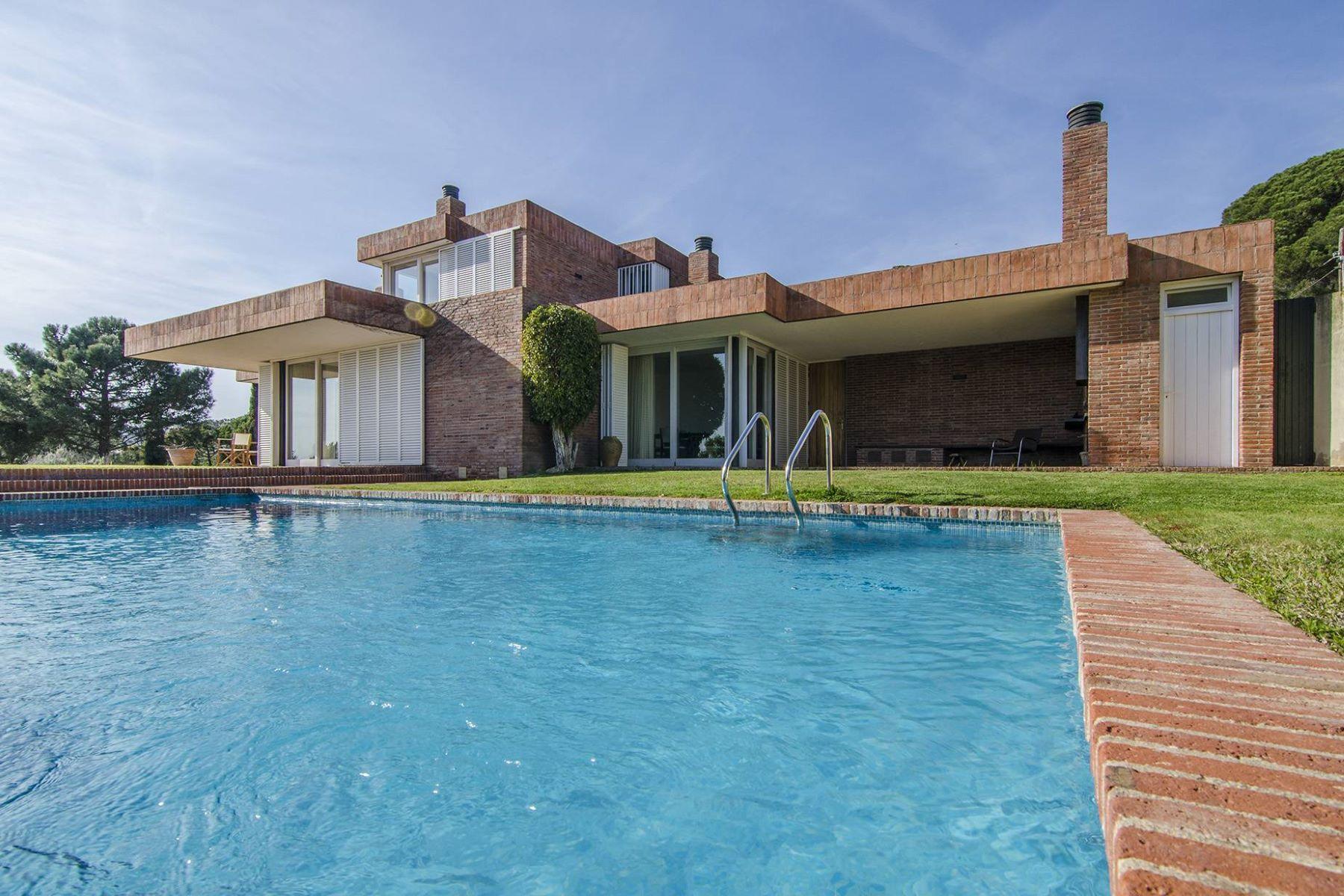 Single Family Home for Sale at Mediterranean house with sea views in Sant Vicenç de Montalt Sant Andreu De Llavaneres, Barcelona, 08392 Spain