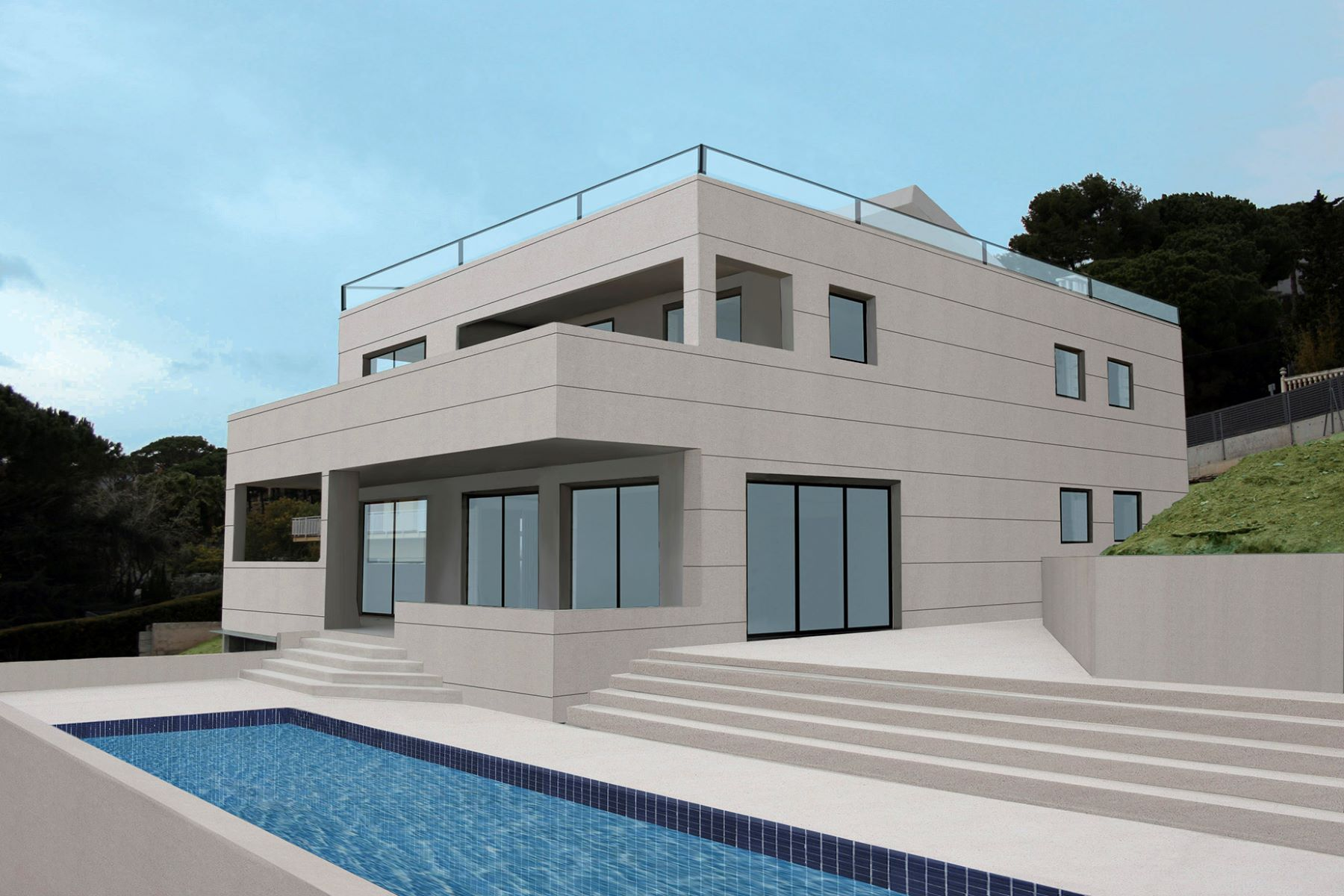 Single Family Home for Sale at Newly built detached house in Cabrils Cabrils, Barcelona, 08348 Spain