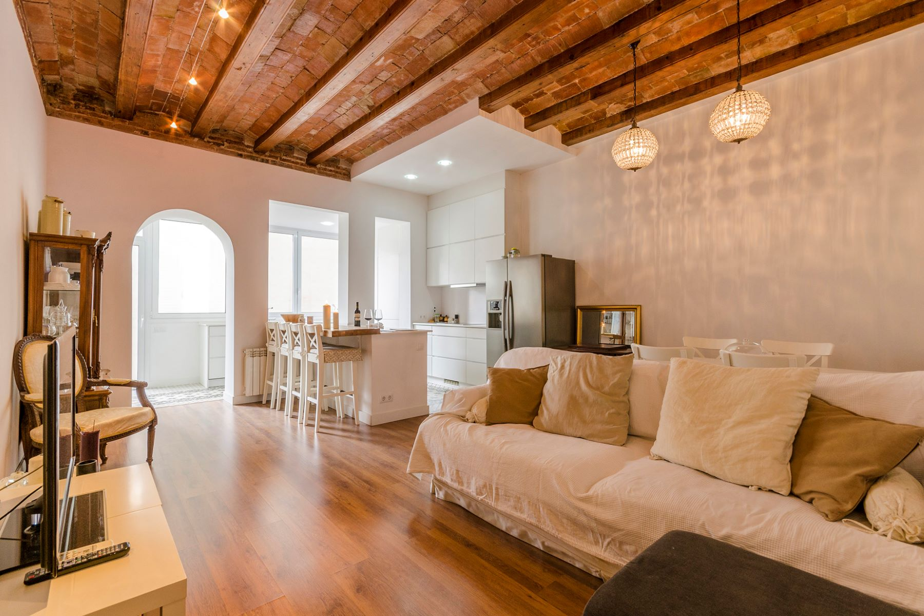 Apartment for Sale at First floor apartment with terrace in the old Left Eixample Barcelona City, Barcelona, 08007 Spain