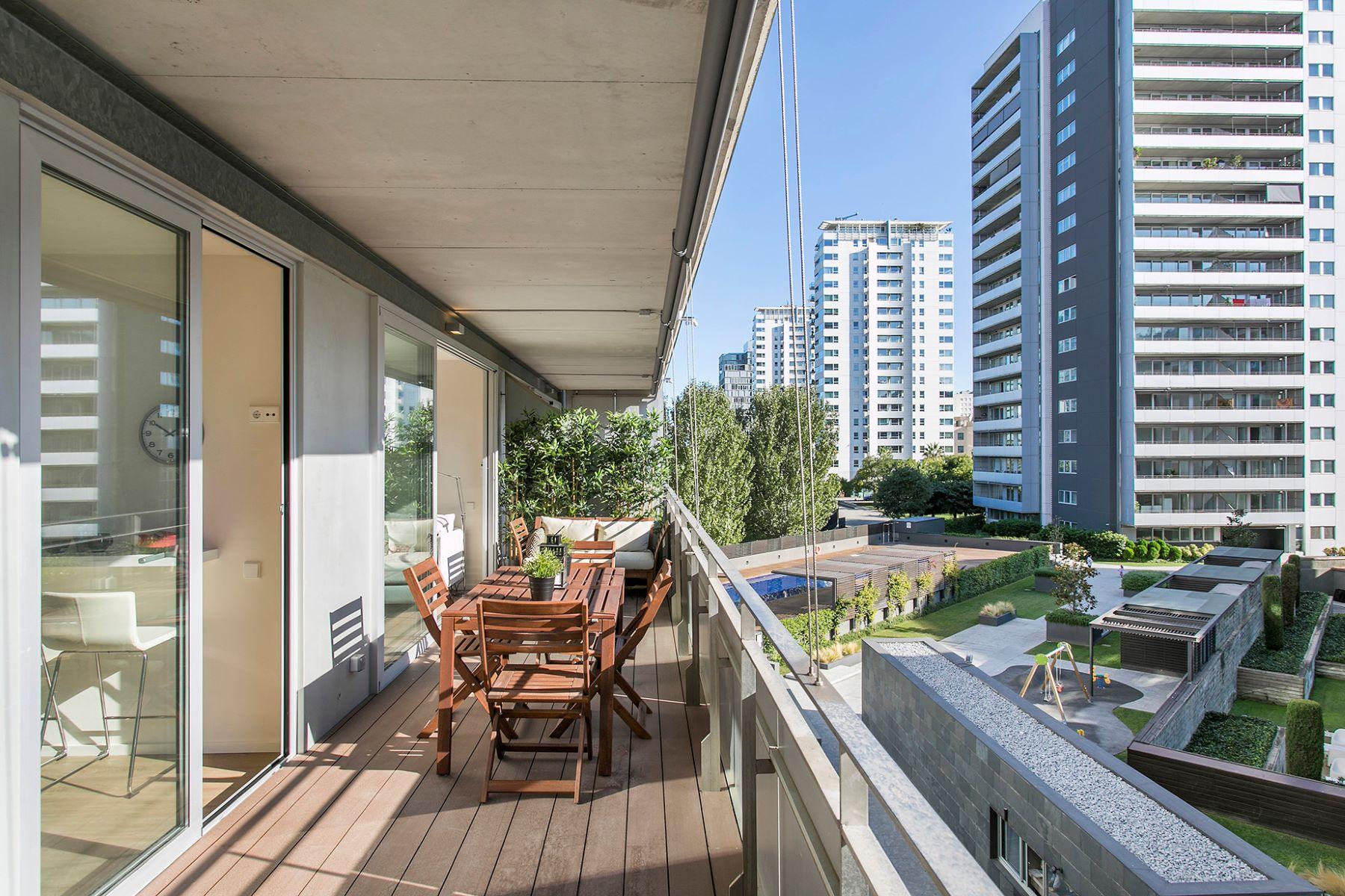 아파트 용 매매 에 Modern family apartment in Diagonal Mar Barcelona City, Barcelona, 08019 스페인