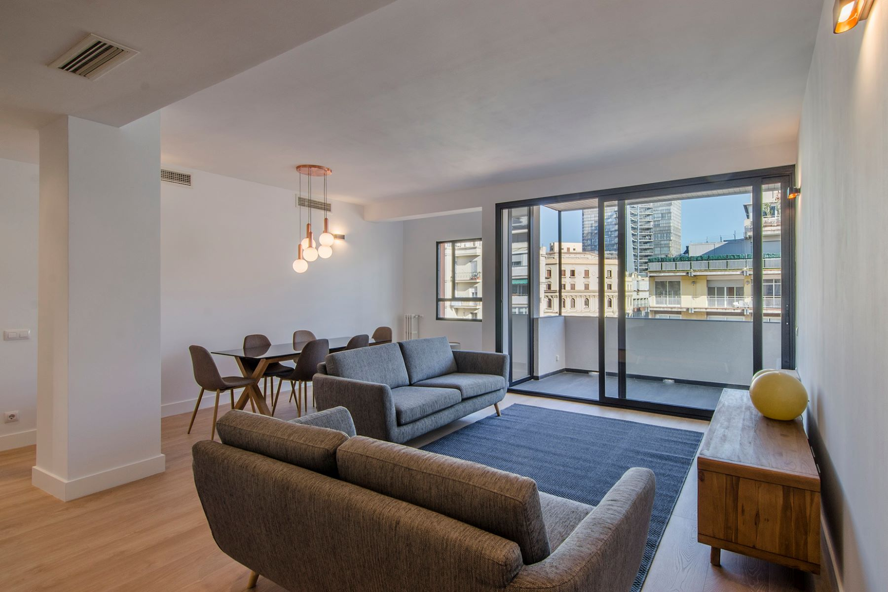 Apartment for Sale at Superb bright and brand new flat with terrace in top location Barcelona City, Barcelona, 08034 Spain