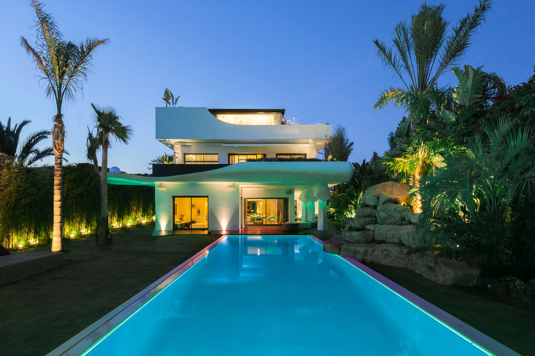 Single Family Home for Sale at Extraordinary villa in Sitges Sitges, Barcelona 08870 Spain