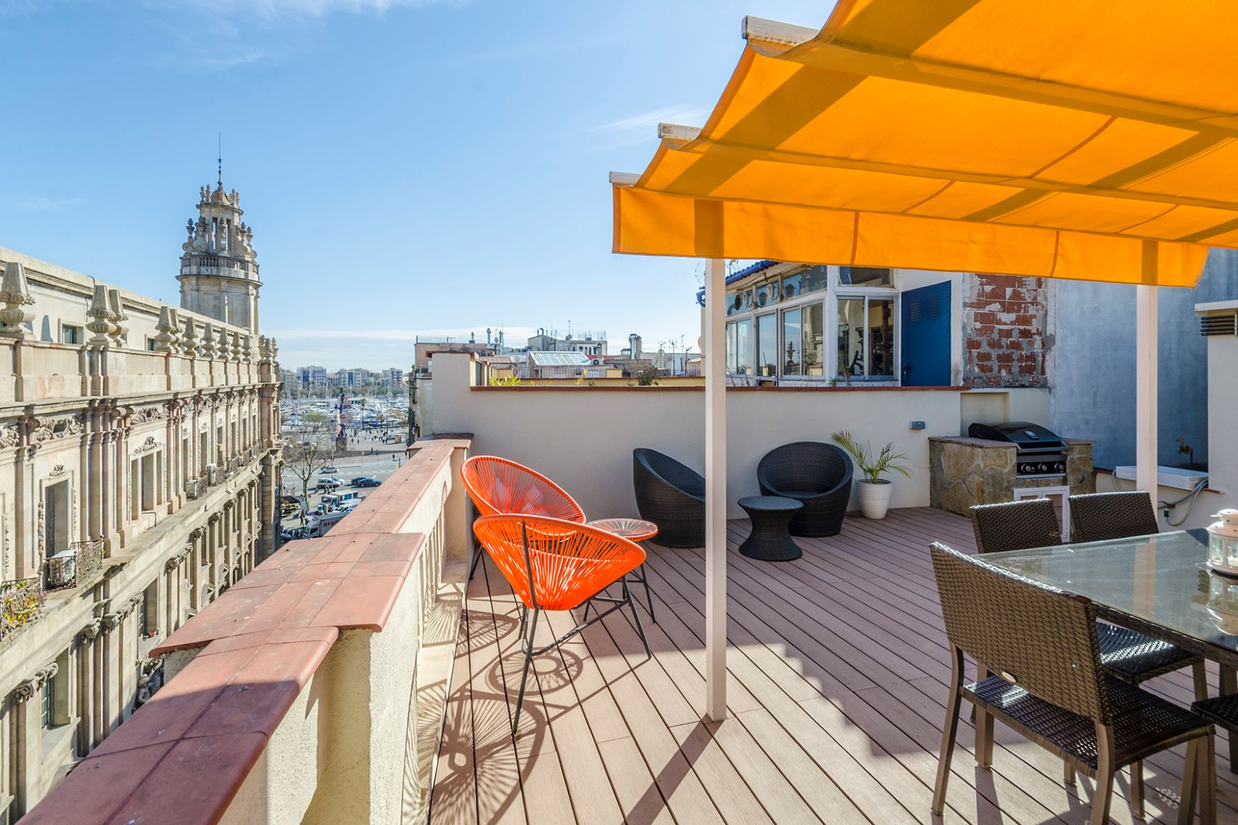 Apartment for Sale at Outstanding penthouse in the Gothic quarter with unique views of Port Vell Barcelona City, Barcelona, 08002 Spain
