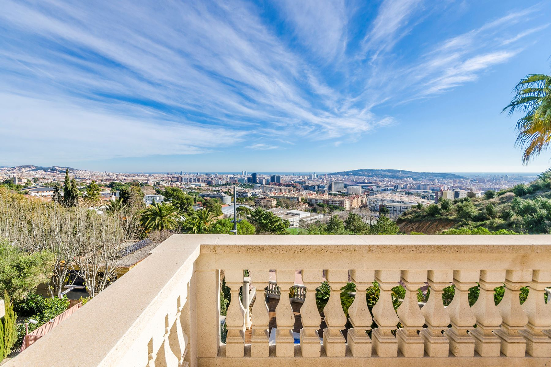Single Family Home for Sale at Fantastic villa in Pedralbes with fantastic views of Barcelona and close to ... Barcelona City, Barcelona 08034 Spain