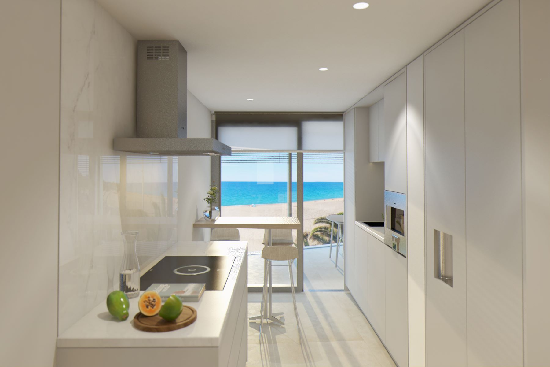Appartement pour l Vente à First floor apartment with sea views in exclusive new development Playa De Aro, Costa Brava, 17250 Espagne