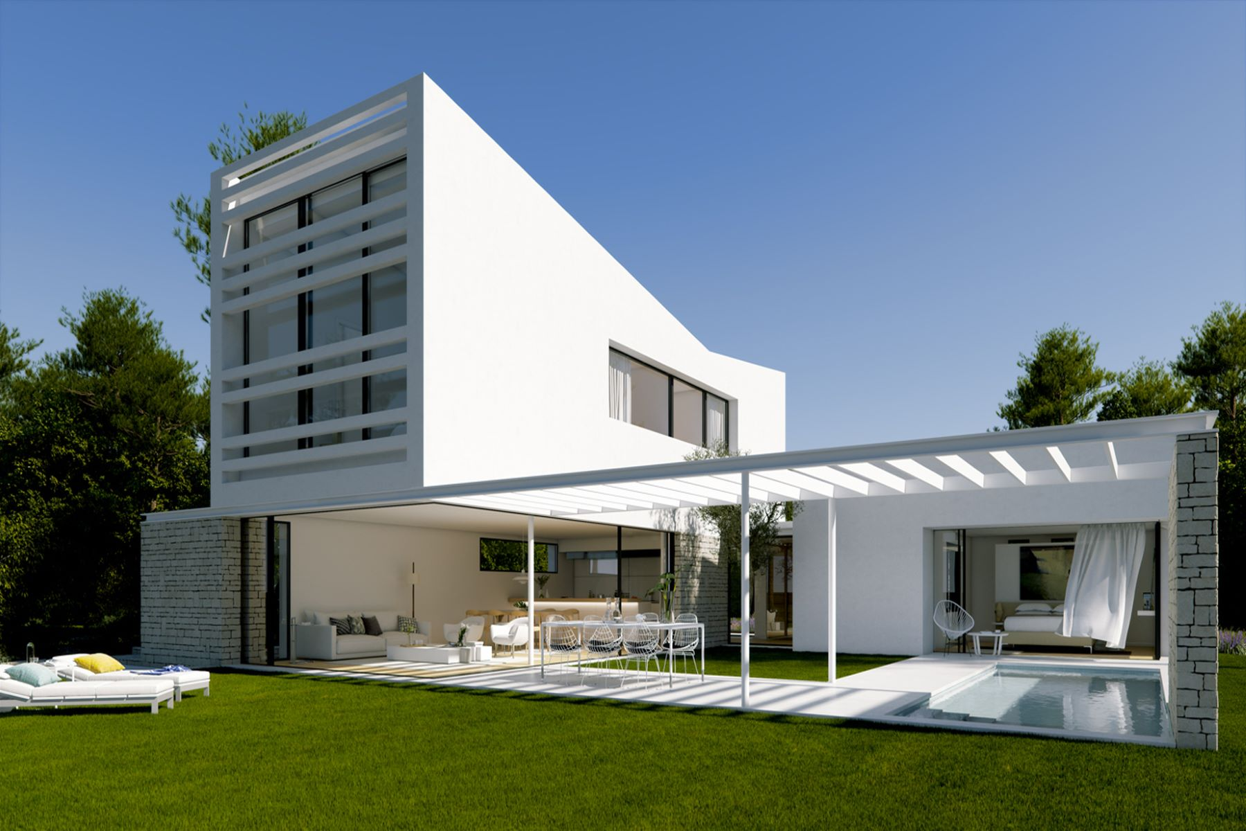 Single Family Home for Sale at Modern villa in golf club Other Spain, Other Areas In Spain, 17001 Spain